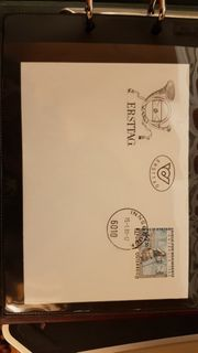Ersttagsbriefe und Briefmarken