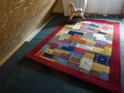 Flor Wolle Teppich für Wohnbereich