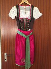Dirndl Gr 34 mit Bluse