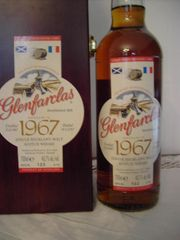 Glenfarclas Whisky Distilled in 1967