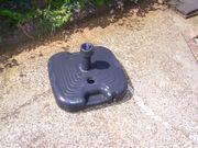 Sonnenschirmständer schwarz