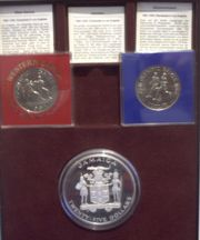 Olympiamünzen Spiele 1984 Los Angeles