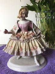 Biedermann Porzellan Figur