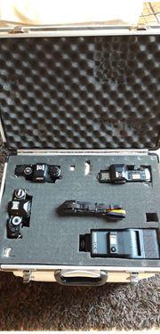 3 x RevueFlex Kamera-Gehäuse inkl