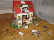 Playmobilhaus mit zusätzl Stockwerk Wintergarten