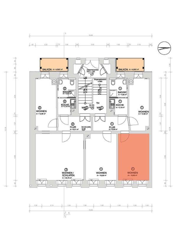 Leipzig-Plagwitz ZIMMER nach Sanierung frei