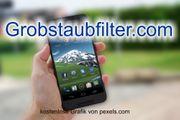 Top-Level com Domain - Grobstaubfilter com -