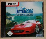 CD-ROM - Out Run 2006 - PC-Spiel - Auto-Rennen