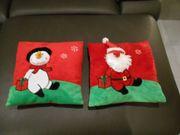 2 Weihnachtskissen