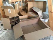 Kartons diverse zu verschenken