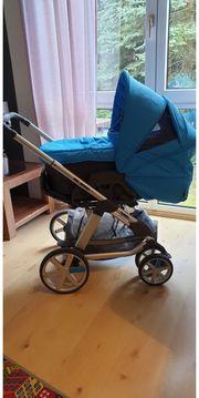 ABC-Design Kinderwagen inkl Kindersitz