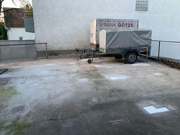 Anhänger Quad u Motorrad Stellplatz -