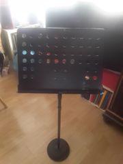 DIXON Profi-Notenständer und Tornado Klavierstuhl