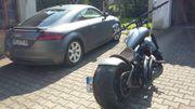 H-D Custombike Tausch gegen US-Car