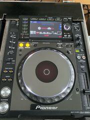 2x CDJ 2000 Nexus mit