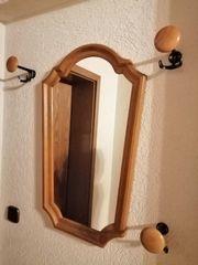 Spiegel Garderobe Eiche Rustikal mit