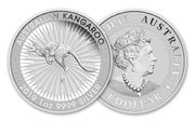 Silbermünze 1 oz Kangaroo Australien