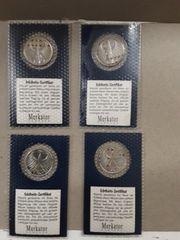 5 - DM Silbermünzen BRD