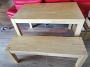 IKEA Tisch Nordby mit Sitzbank