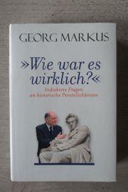 Georg Markus Wie war es