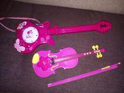 Barbie Gitarre und Geige