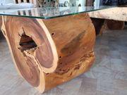 Tisch aus Wurzelholz in Handarbeit