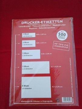 Drucker - Etiketten , Photo Qualitätspapier