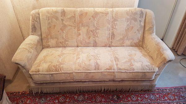 Sessel und 2er Sofa