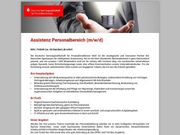 Assistent Personalbereich m w d