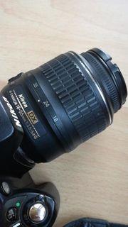 Nikon D60 Spiegelreflexkamera Kit mit