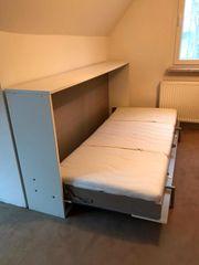 Klapp- Schrankbett mit Matratze