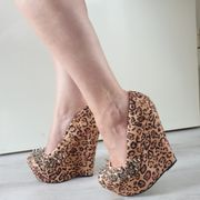 Leo High Heels besondere Schuhe