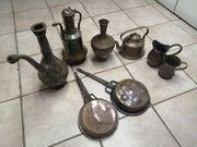 Kupfer - Kannen Kupfer Pfannen