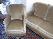 Sofagruppe hohe Sitzposition feste Federung