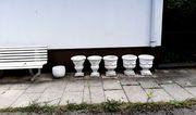 Gartenvasen aus Stein für Garten