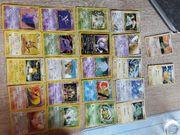 Verkaufe gut erhaltene Pokemon Karten