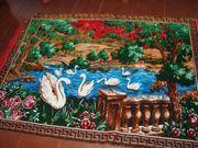 Vintage Wandteppich