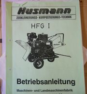 Husmann HFG I Schredder