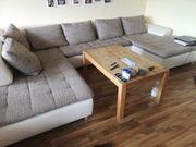 Großes Sofa Wohnlandschaft