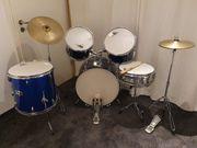 Einsteiger-Schlagzeug Drumset Drumkit