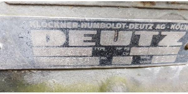 Deutz Motor Stapler Bagger Radlader