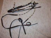 Schmuck-Trense mit-Stirnband und Backenriemen Cob-Größe