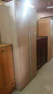 Kleiderschrank Schmal 90x225x60 Modern - H1806