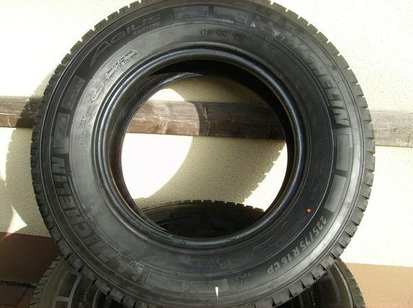 4x Reifen Michelin Agilis Camping