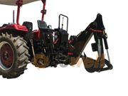 Heckbagger Anbaubagger für mittlere Traktoren