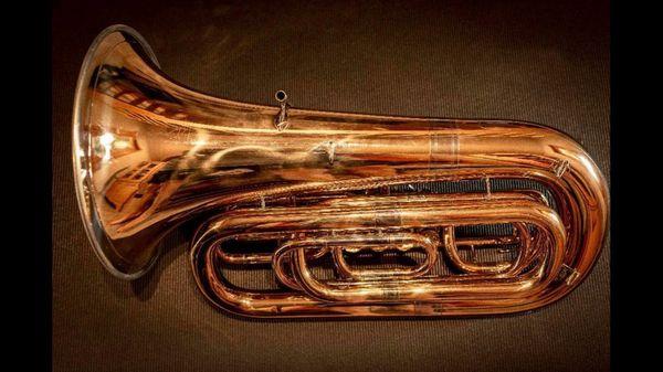 Tuba Miraphone 91a Goldmessing