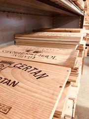 Weinkistenbretter Weinkisten-Deckel Bis 40 Quadratmeter