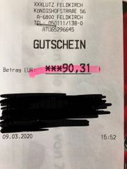 XXXLutz Gutschein