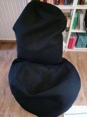 Sitzsack gross schwarz