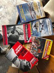 Zeitschriften Fliegergeschichten - Western- und Krimi